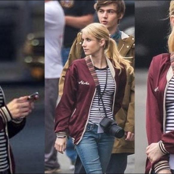 Jackets Coats Auth Maison Scotch Emma Roberts Nerve Jacket 1 Poshmark